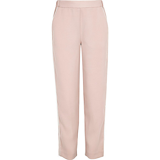 Girls pink soft pants