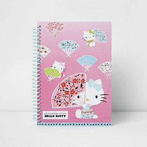 Hello Kitty - roze notitieboek voor meisjes