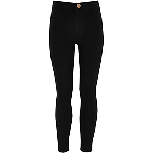 Molly – Schwarze Jeans-Jeggings