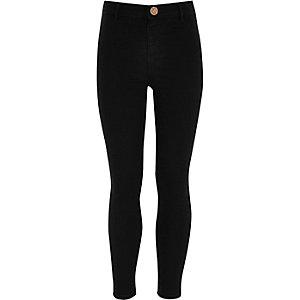 Molly– Jegging en jean noir pour fille
