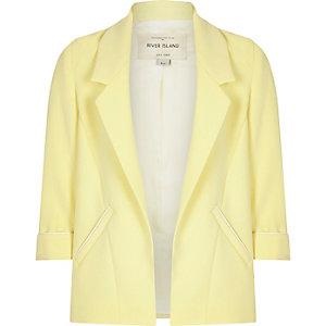 Blazer jaune habillé pour fille