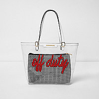 "Rote Tote Bag ""Off Duty"""
