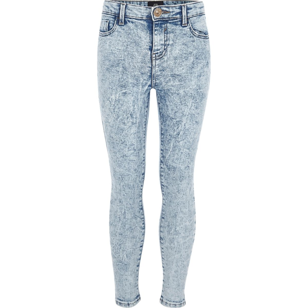 Light Blue Skinny Jeans Women
