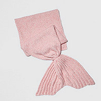 Girls pink Mermaid Blanket