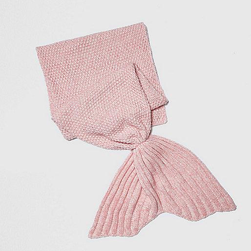 Girls pink Mermaid Blanket