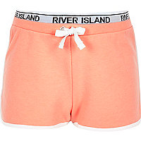 Girls RI Active coral runner shorts