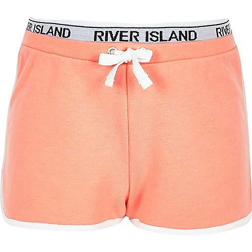 Girls RI Active coral runner shorts