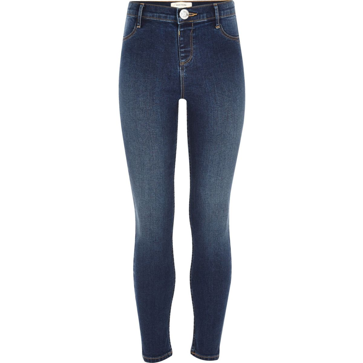 Molly – Jeans-Jeggings in dunkelblauer Waschung