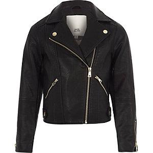 Black Coats & jackets | Girls Coats & jackets | River Island