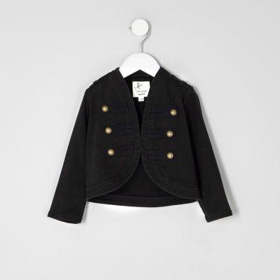 Mini Zwart jasje voor meisjes
