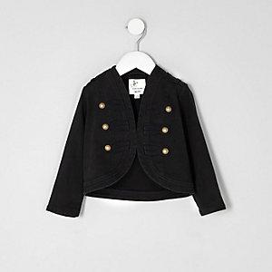 Mini - Zwart jasje voor meisjes