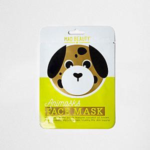 Maske mit Hundegesicht