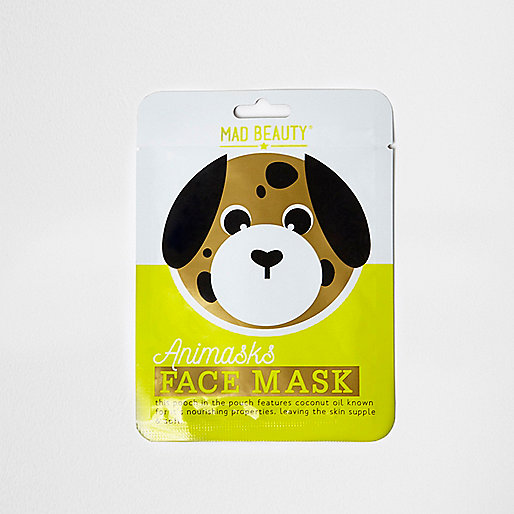 Girls dog face mask