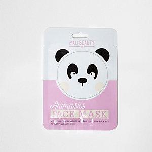 Masque visage panda pour fille