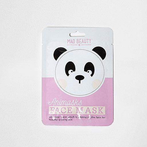 Girls panda face mask