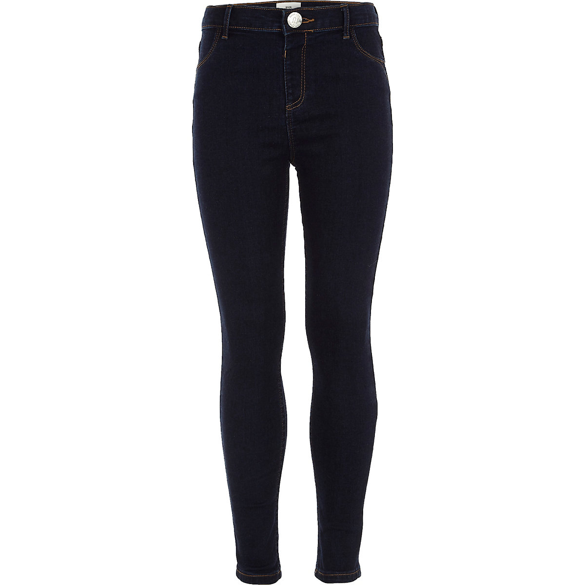 Dunkelblaue Molly Jeggings