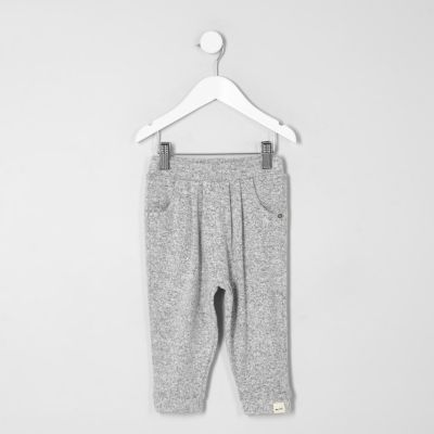 Grijze joggingbroek voor mini girls
