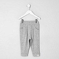 Mini girls grey joggers