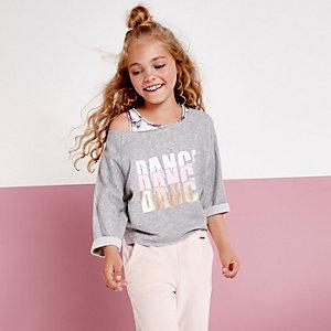 "RI Active – Graues Sweatshirt ""Dance"""