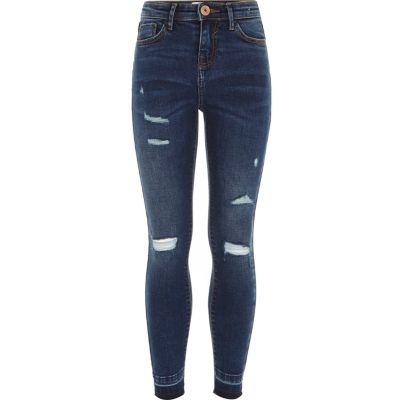 Black ripped skinny jeans india