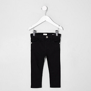 Mini girls black super skinny Amelie jeans