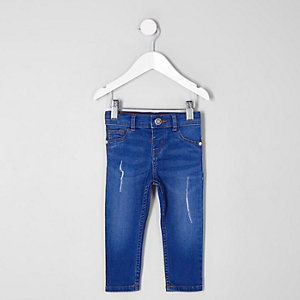 Molly – Jegging bleu vif mini fille