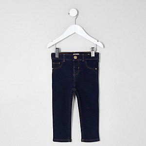 Mini girls dark blue Molly jeggings