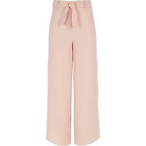 Roze palazzobroek voor meisjes