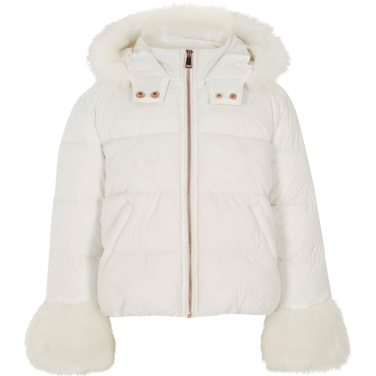 Baby Girl White Faux-Fur Jacket by Gymboree. % polyester faux fur, Gem-button front, Permanent bow in back, Allover faux fur, Fully lined, Machine wash; imported and Collection Name: Emerald Party. GYMBOREE REWARDS. Get in on the good stuff. Returns Ship Free. We want you to .