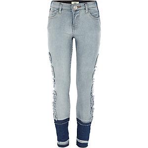 Amelie - Selfie Queen - Blauwe skinny jeans voor meisjes