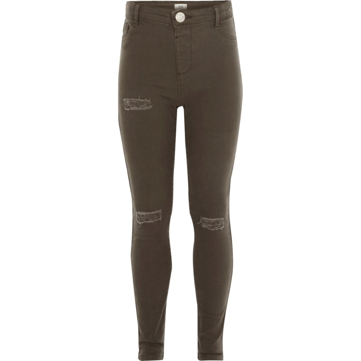 Molly – Jeggings im Used-Look