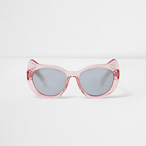 Mini girls pink cat ear sunglasses
