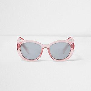Mini - Roze zonnebril met kattenoortjes voor meisjes