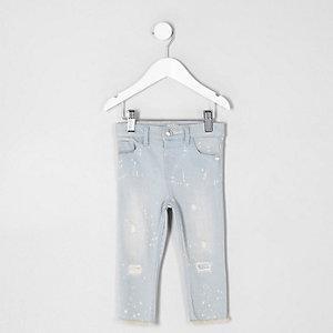 Amelie – Blaue Super Skinny Jeans