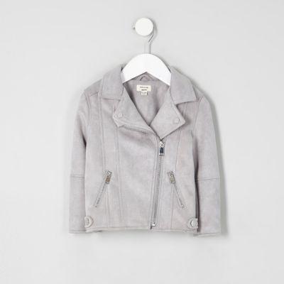 Baby girl grey jacket