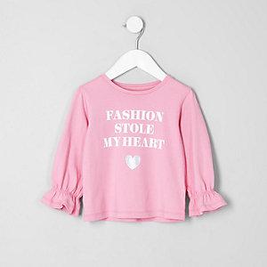 "Pinkes Longsleeve ""Fashion"""