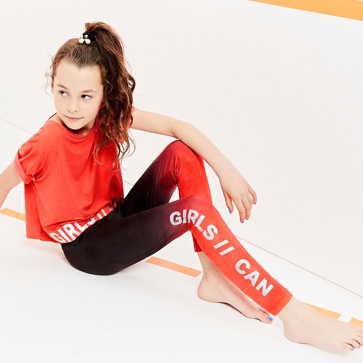 RI Active – Legging noir en dégradé pour fille