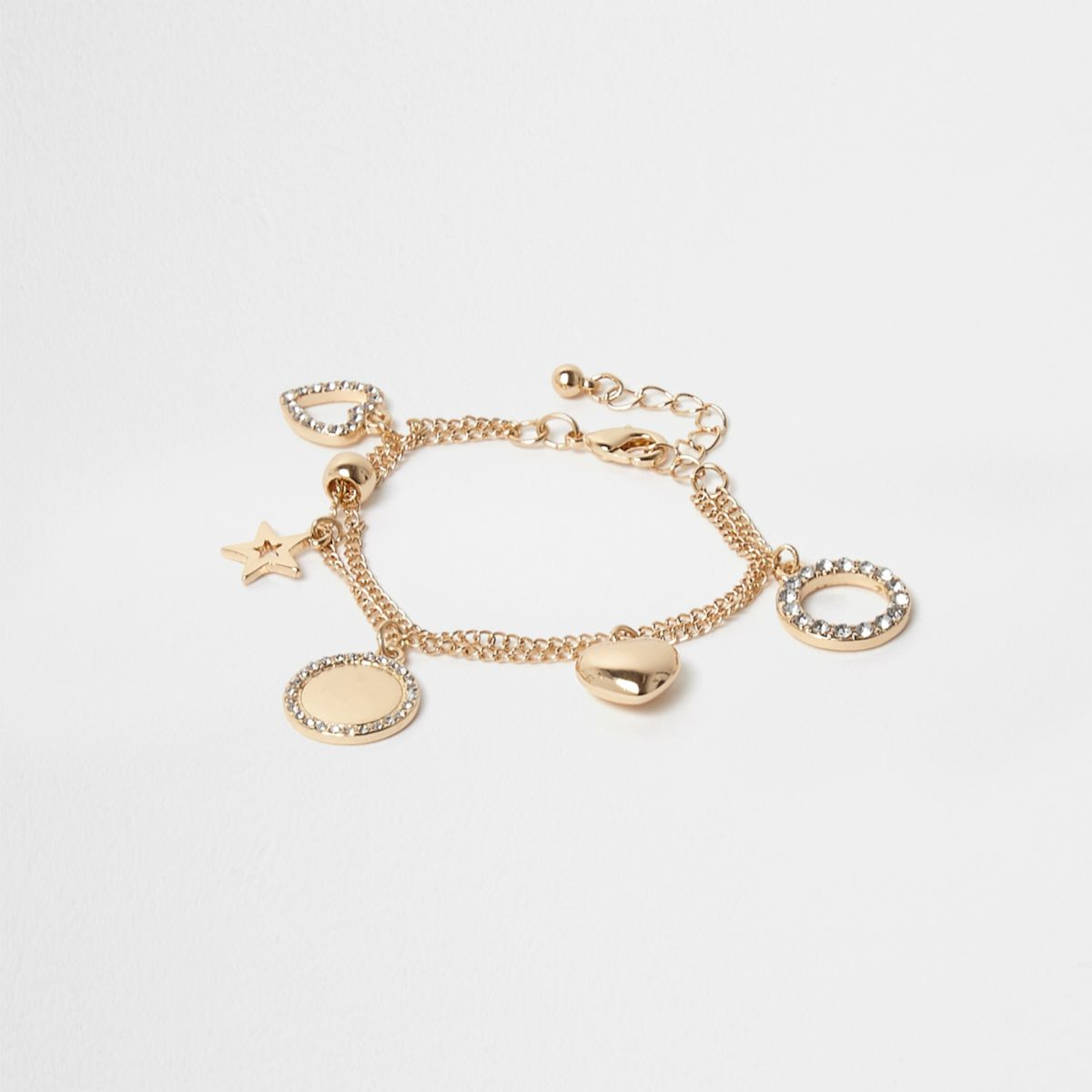 Girls gold tone charm bracelet - Jewellery - Accessories - girls