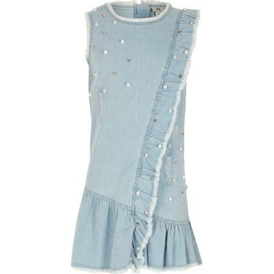 Girls Embellished Dress