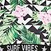 Girls green geo tropical bikini set