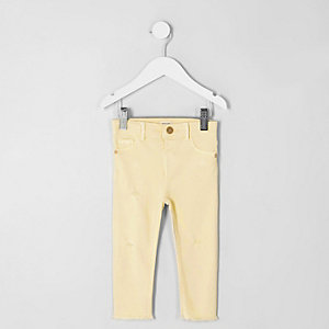 ​Molly – Jegging skinny jaune mini fille