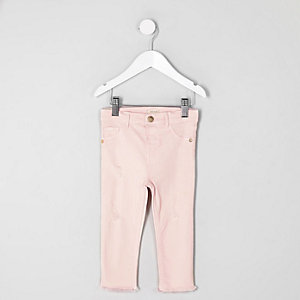 Molly – Jegging rose clair mini fille
