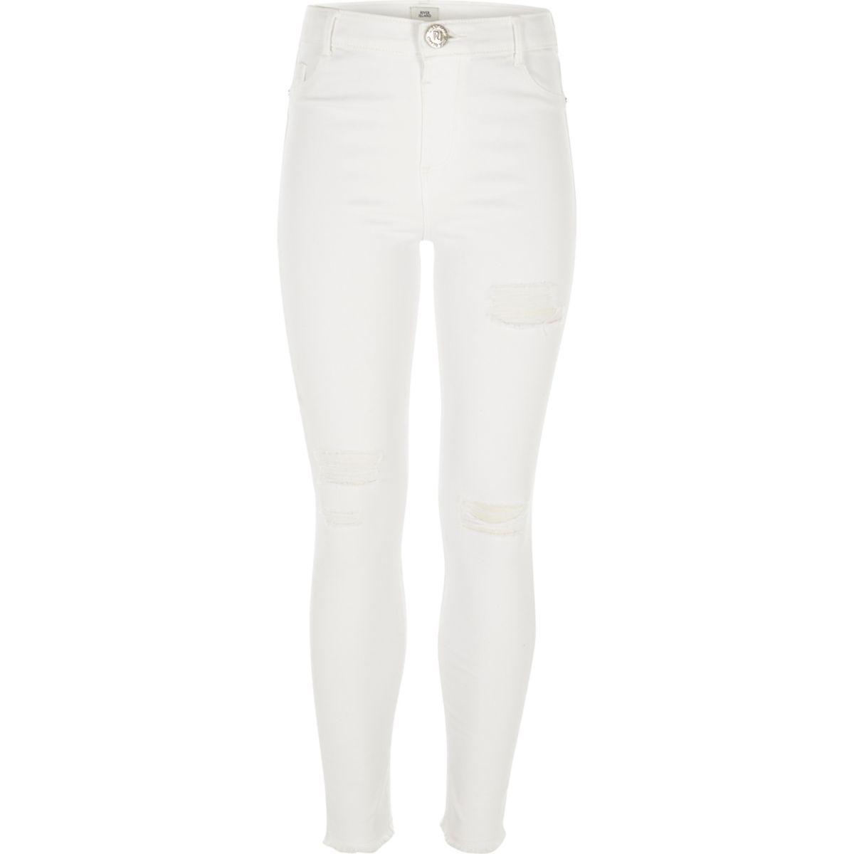 Amelie – Skinny Jeans im Used Look
