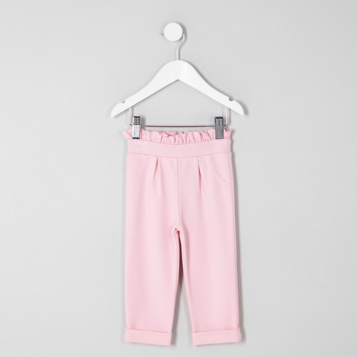 Pinkes Hose mit Rüschen