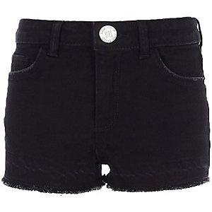 Zwarte boyfriend short voor meisjes