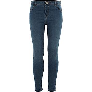 Molly - Blauwe skinny jeans voor meisjes