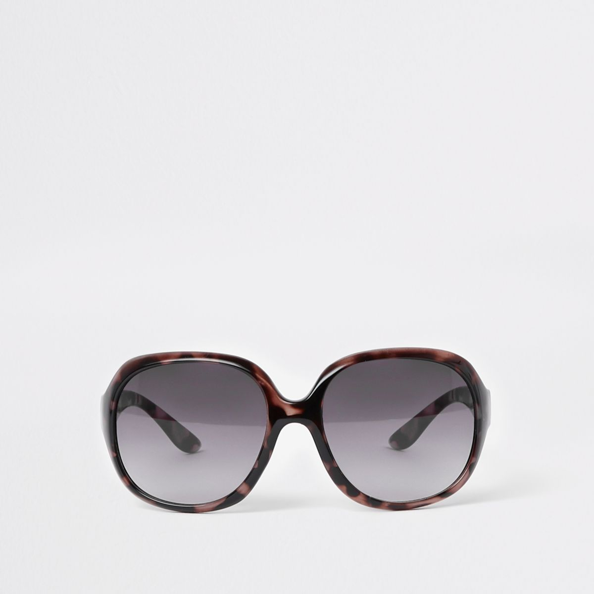 Mini Girls Black Tortoiseshell Sunglasses by River Island