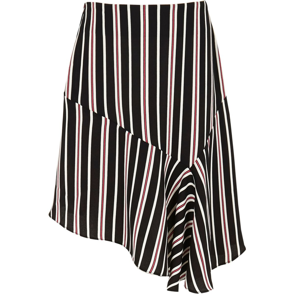 Black Stripe Skirt 6