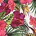 Girls white floral print bardot romper
