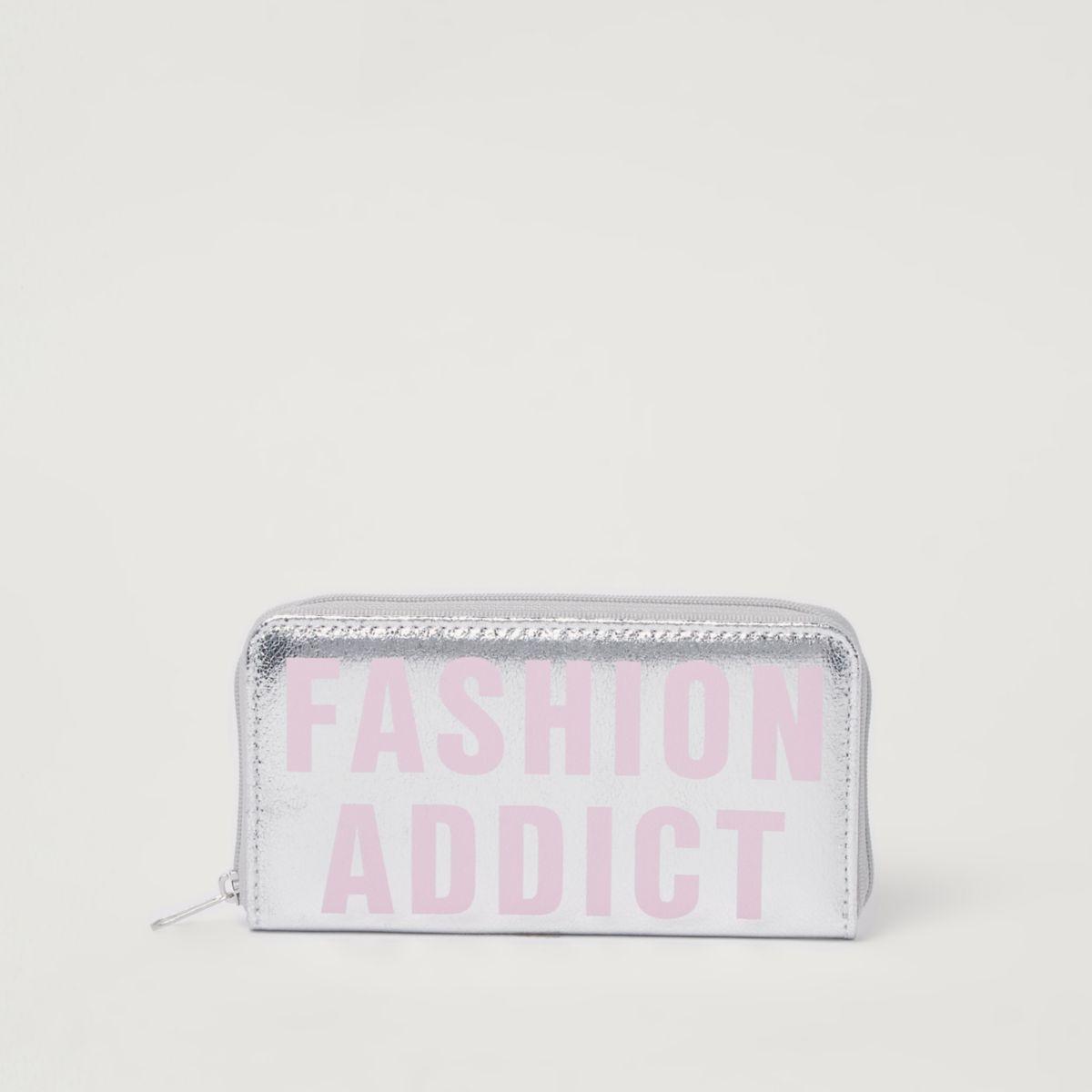 """Geldbörse in Silber-Metallic """"Fashion Addict"""""""